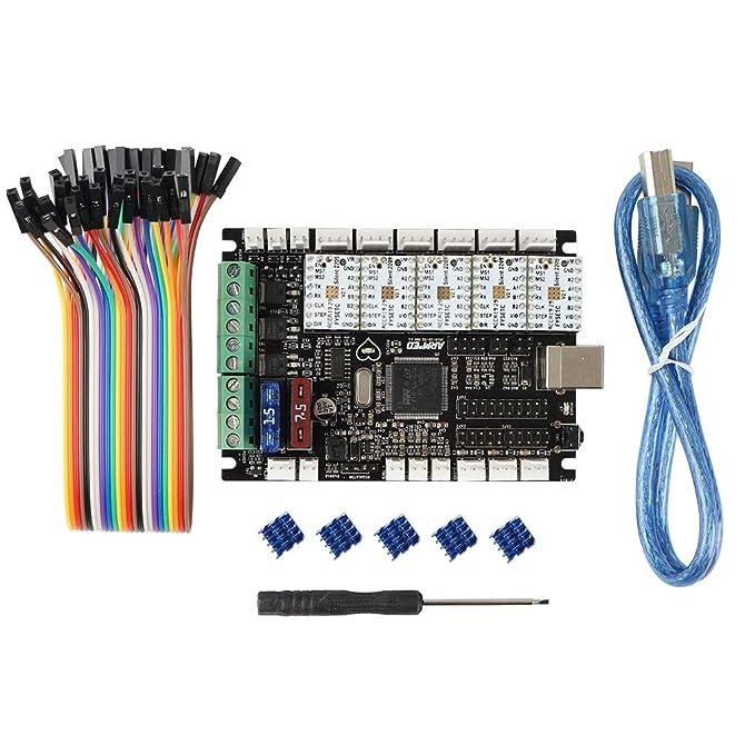 Semoic Accesorios de Impresora 3D Armado STM 32-bit Motherboard ...