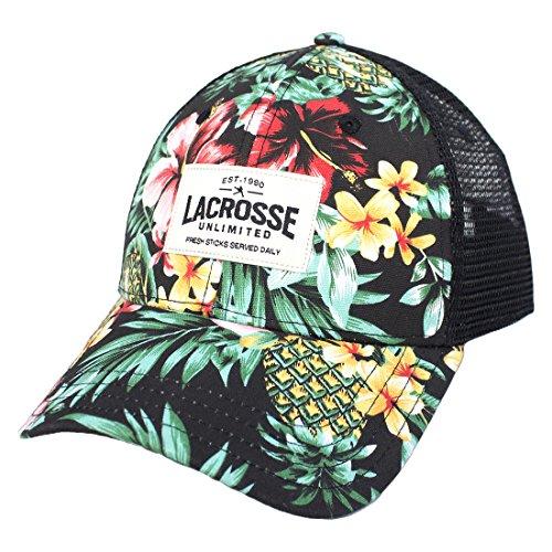Lacrosse Unlimited Trucker Hat -Floral by Lacrosse Unlimited