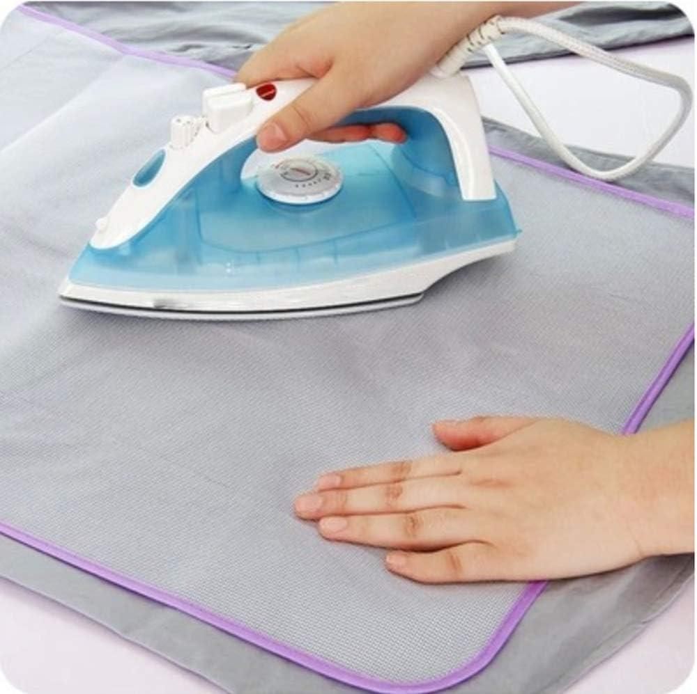 4 clips de fixation Housse de table /à repasser pour repassage ultra rapide Housse de table /à repasser XXL Housse de repassage pour les tailles de planches 155x60cm