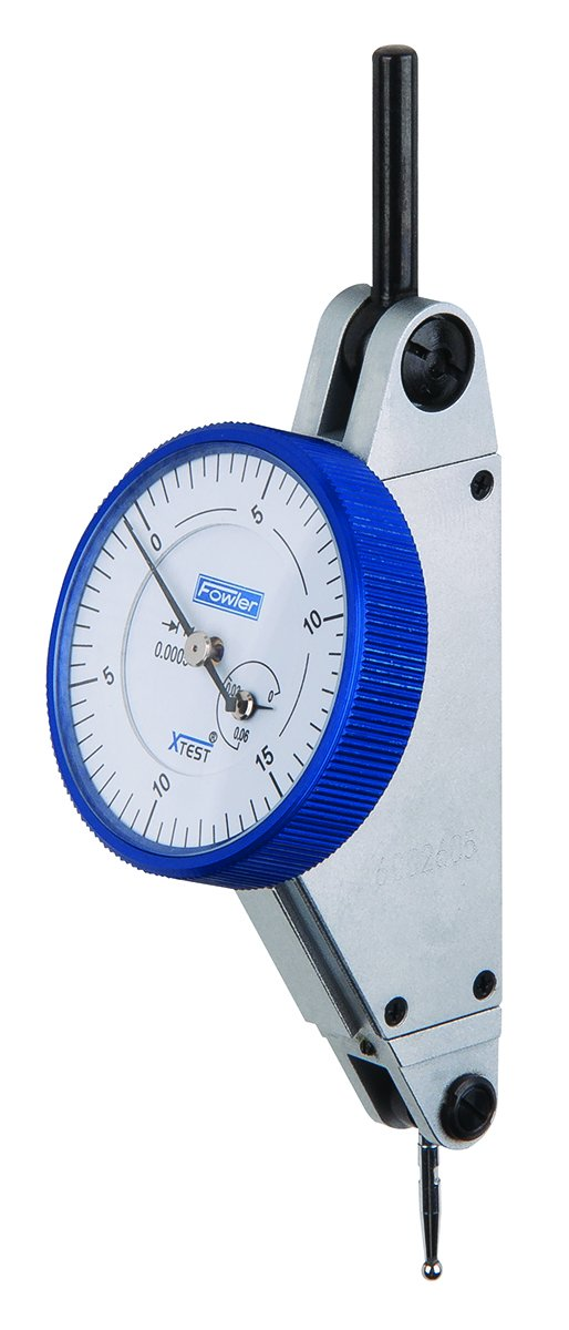 0.001 Graduation Interval 0.060 Maximum Measuring Range Fowler 52-562-003 Horizontal White Dial X-Test Indicator 1 Diameter