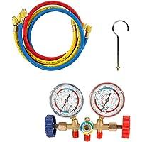 Vislone Manometros Aire Acondicionado Conjunto de herramientas