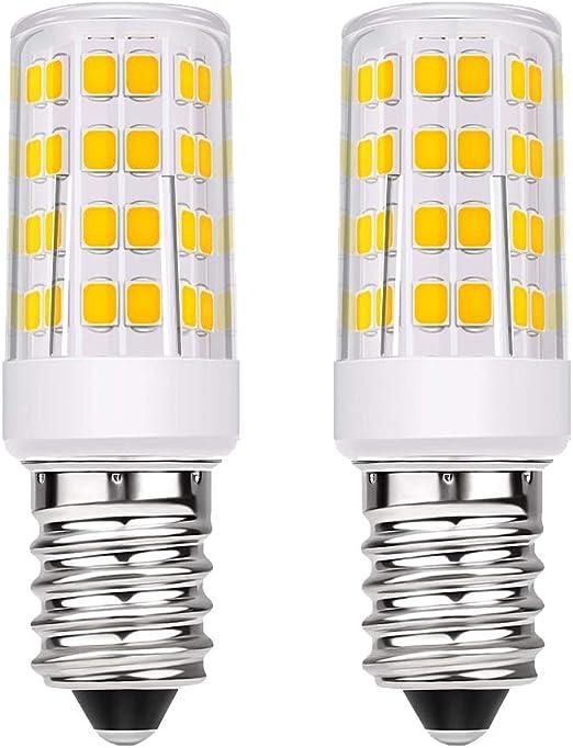 Bombilla LED E14, Pursnic 5W incandescente Equivalente a 40W ...