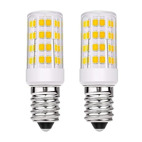 Bombilla LED E14, Pursnic 5W incandescente Equivalente a 40W, rosca Edison pequeña (SES