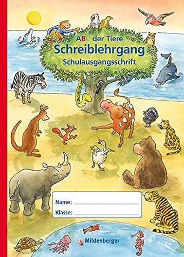 ABC der Tiere – Schreiblehrgang SAS in Sammelmappe, Erstausgabe