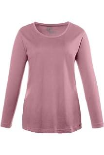 Shirt mit Volants tannengrün NEU ULLA POPKEN Long