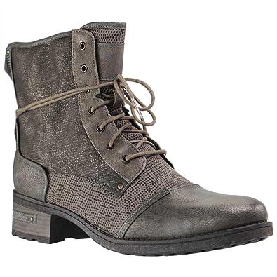 Mustang 1229-603 Womens Laced   Zip Biker Boots  Amazon.co.uk  Shoes ... 154de1aa94