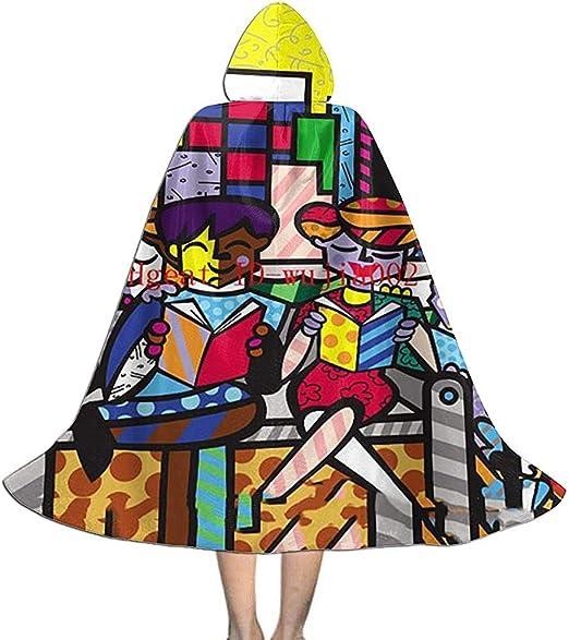 Disfraz de Halloween de capa larga con capucha para adolescentes ...