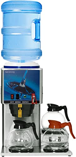 Newco KB-3F Bottled Water Coffee Brewer w Faucet