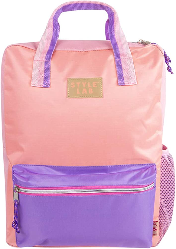 With Padded Adjustable Straps Style.Lab by Fashion Angels Eco-Friendly Backpack for Girls