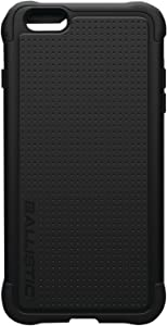 Ballistic Tough Jacket Case for Apple iPhone 6 Plus and iPhone 6s Plus - Retail Packaging - Black
