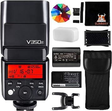 GODOX TT350F Mini TTL Flash 2.4G HSS 1/8000s HSS GN36 Camera Flash ...