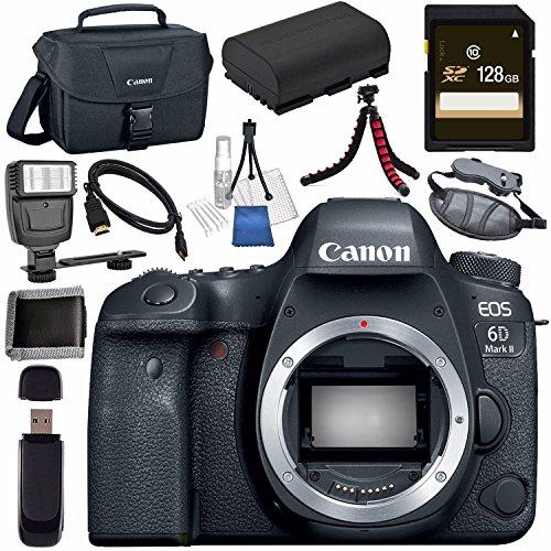 Canon EOS 6D Mark II DSLR Camera  1897C002 + LPE-6 Lithium