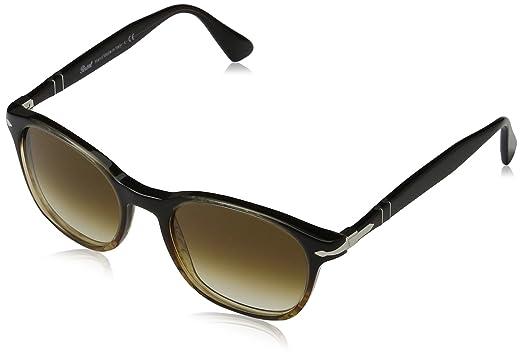 4e40c5024a Amazon.com  Persol Men s 0PO3150S Brown Striped Clear Gradient Brown ...