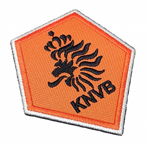 TINL016 Netherlands Holland Shield Football Soccer Embroidered Patch Iron or Sew - Soccer Ball Embroidered Iron