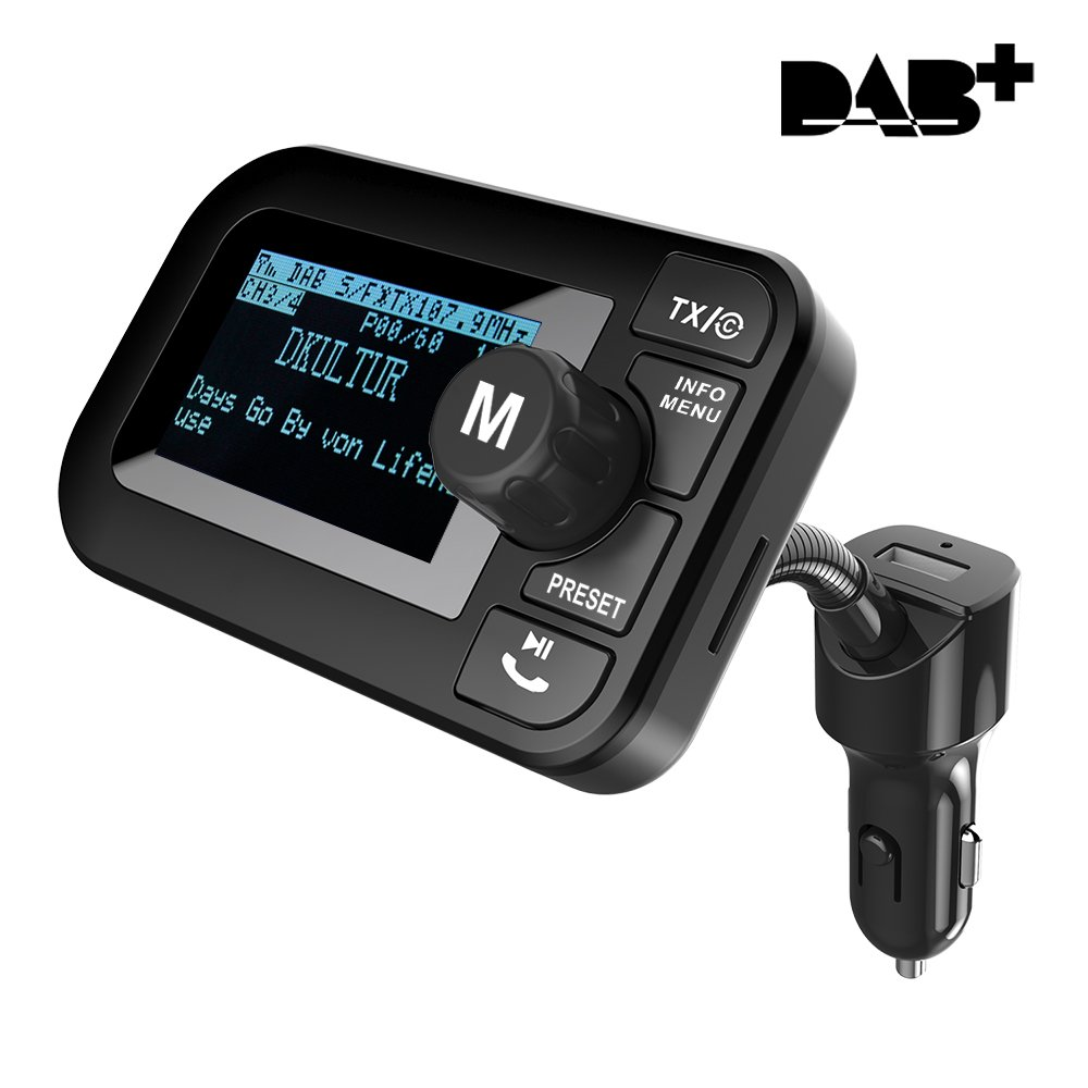 FirstE Car DAB/DAB+ Radio Adapter 2 3