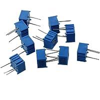 SODIAL(R) 10 pezzi 10K Ohm Regolazione dall'alto resistori variabili potenziometro