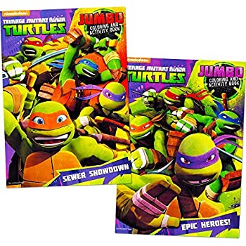 teenage mutant ninja turtles coloring book set 2 tmnt books - Ninja Turtles Coloring Book