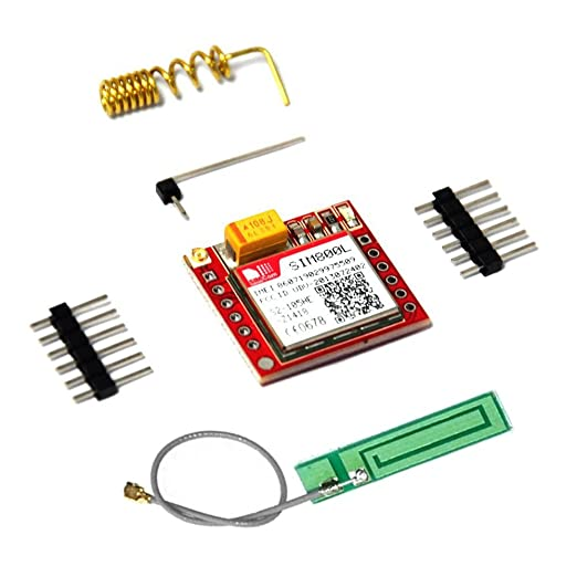 5 opinioni per KOOKYE SIM800L GPRS GSM Module Micro Sim Card Board Quad-band TTL Serial Port