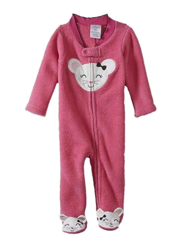 【良好品】 Little B00WH4CPTQ Wonders Infant GirlsホットピンクPlushマウススリーSleep Playパジャマ 0 0 Little - 3 Months B00WH4CPTQ, Satie サティーチョコレート:9b6f3483 --- a0267596.xsph.ru