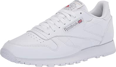 Classic Leather Sneaker, White