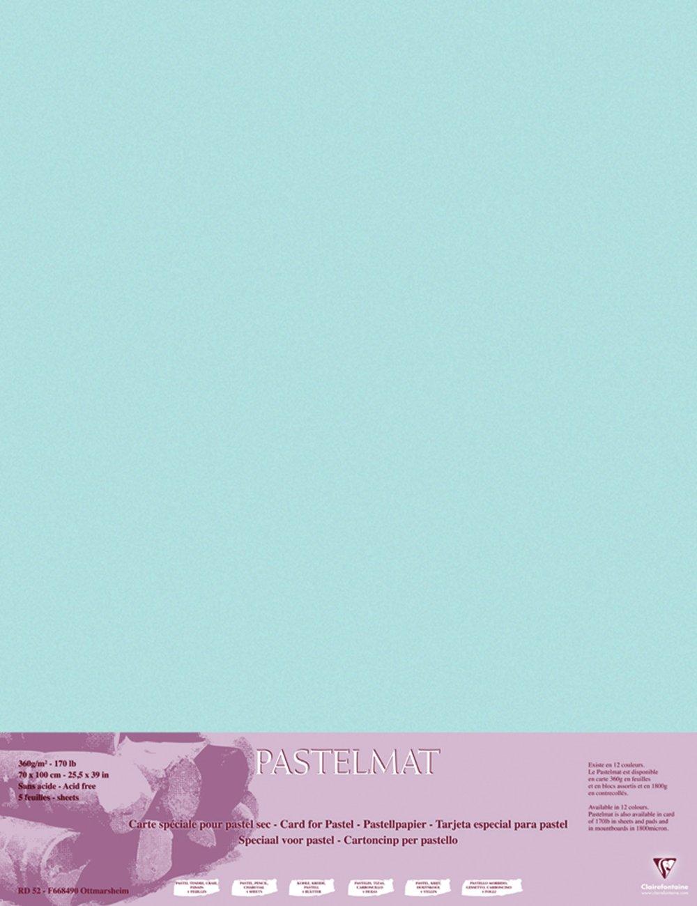Clairefontaine 96011C Packung (mit 5 Zeichenbögen Pastelmat, Pastelmat, Pastelmat, 50 x 70 cm, 360 g, ideal für Trockentechniken und Pastell) braun B017NEHAQ2 | Spielen Sie das Beste  be5b7c