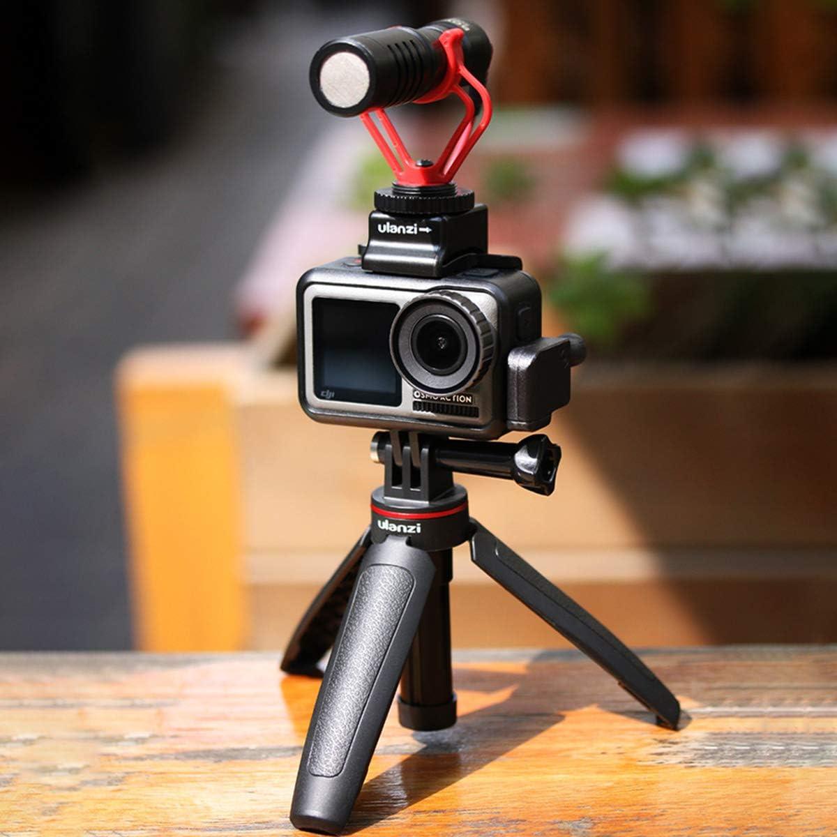 MT-09 Extendable Vlog Tripod Handle Grip Stick for GoPro Hero 8 7 6 5 4 Sport Action Cameras Vlogging Accessories