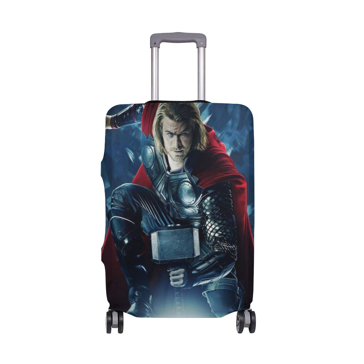 Thor Superhero suitcase cover elastic suitcase cover zipper luggage case removable cleaning suitable for 29-32 trunk cover