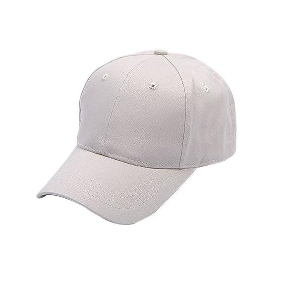 Mengonee Moda retro sólido Mujeres Deportes gorra de béisbol al aire libre del  casquillo ocasional hermosa cola de caballo ajustable Sombrero del verano   ... 9308676215b