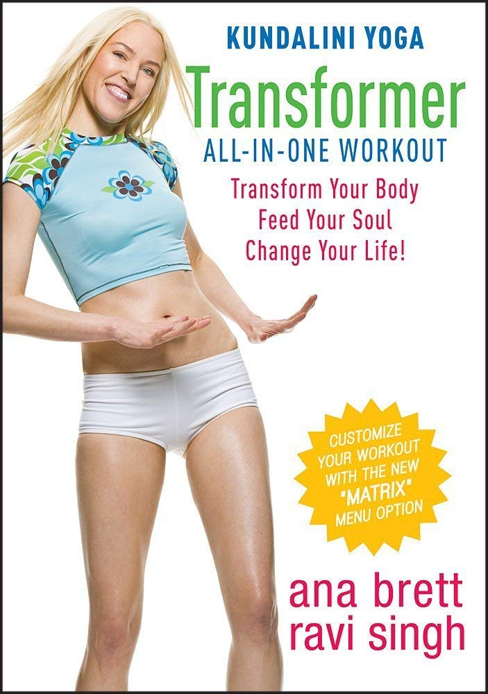 Kundalini Yoga Transformer All-In-One Workout ALL LEVELS DVD ...