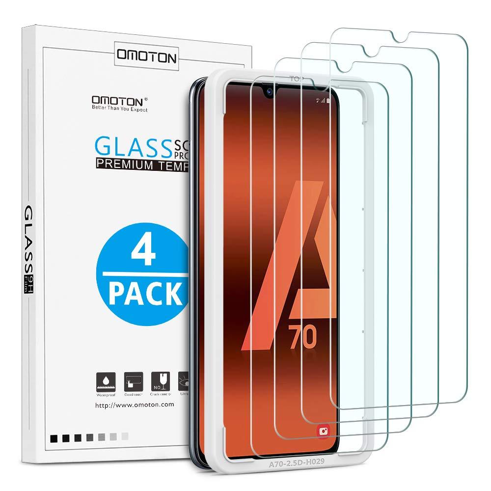 4 Verres trempés Samsung A70