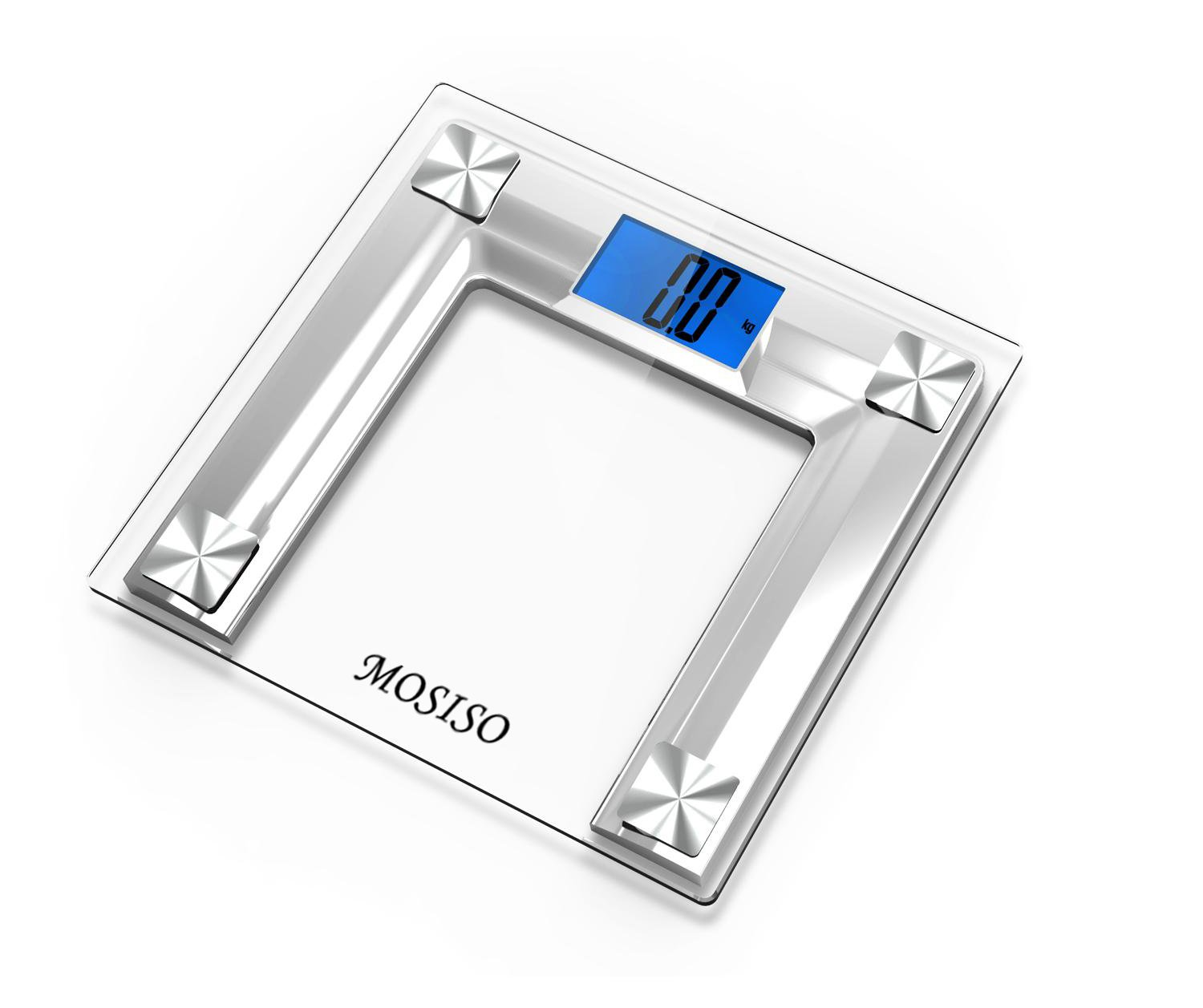 Bathroom scale accuracy consistency - Amazon Com Mosiso High Accuracy Digital Bathroom Scale With 4 3 Blue Backlight Display And Smart Step On Technology Newest Version Silver Health