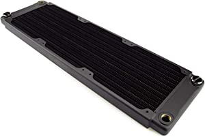 XSPC TX360 Crossflow Ultra Thin Radiator, 120mm x 3, Triple Fan, Black