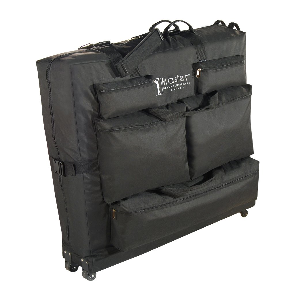 38613e80c8d Amazon.com: Master Massage Universal Wheeled Massage Table Carry Case,Bag  for Massage Table,Black: Health & Personal Care