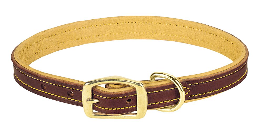 Weaver Leather Deer Ridge Collar, 5/8 x 11-Inch, Brown