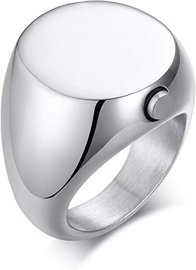 Cremation Jewelry Stacking Rings Men/'s Cremation Ring made with Ashes Men/'s Urn Ring Custom Memorial Ring Pet Loss Memorial Ring