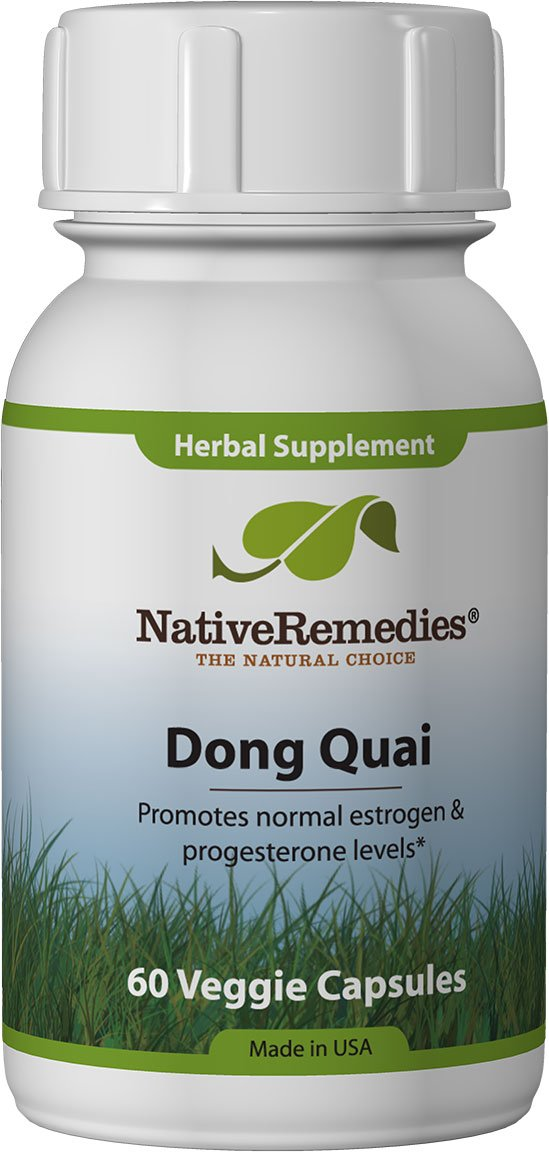 Native Remedies Dong Quai – All Natural Herbal Supplement Supports Female Hormonal Balance and Emotional Health – Promotes Normal Estrogen and Progesterone Levels – 60 Veggie Caps