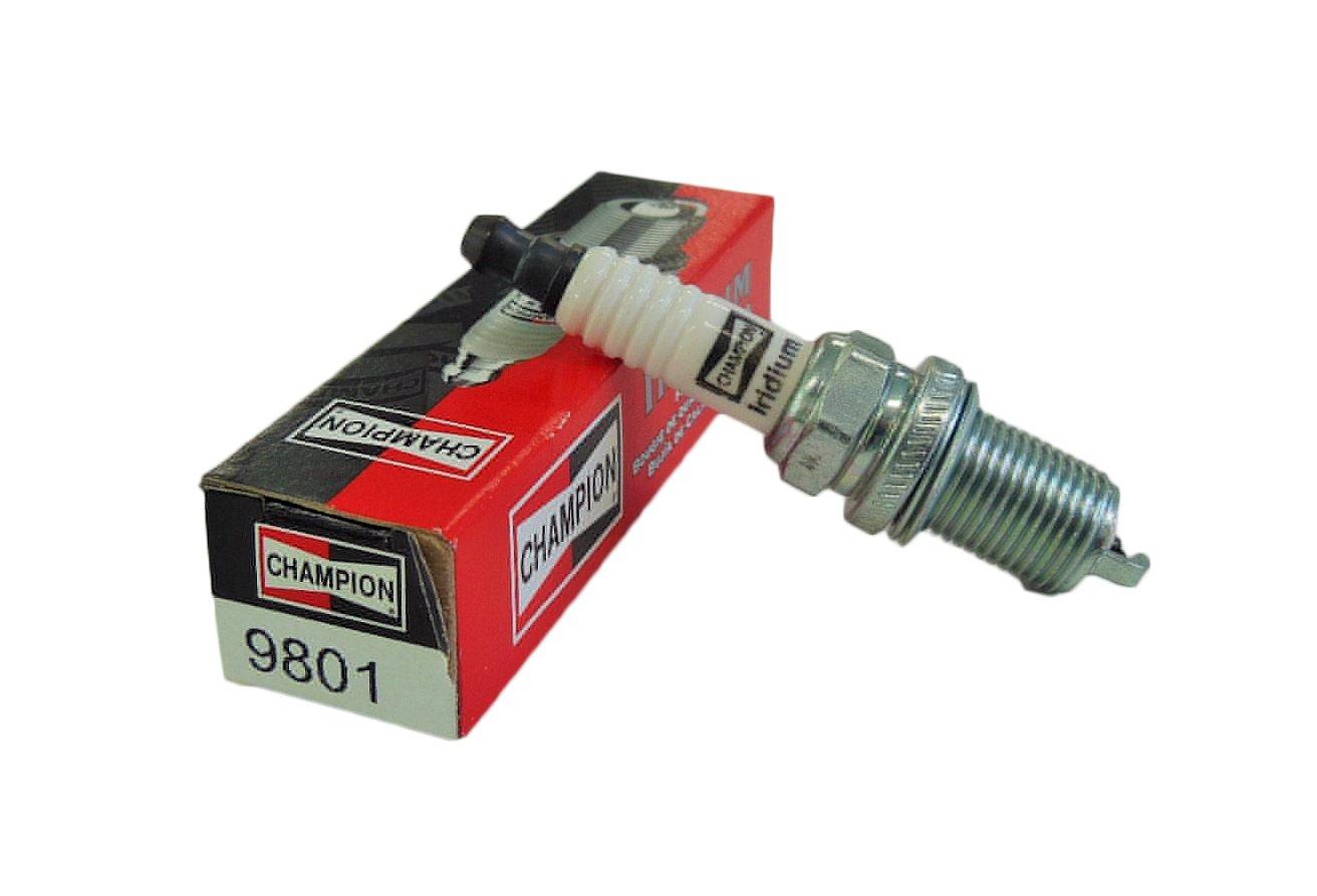 Amazon.com: Champion RC8WYPB3 (9801) Iridium Replacement Spark Plug, (Pack  of 1): Automotive
