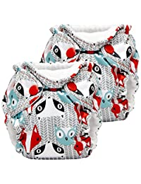 Lil Joey 2-Pack All-In-One Cloth Diaper, Clyde