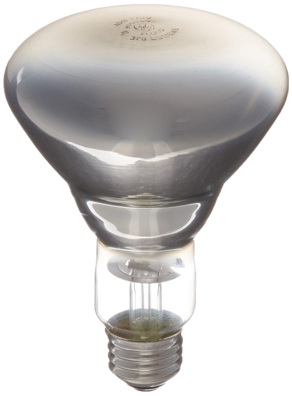 GE 48692-6 65 Watt Reveal Floodlight BR30 Light Bulb, 6-Pack