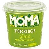 MOMA Plain No Added Sugar Gluten Free Porridge, 12x 70g instant pots