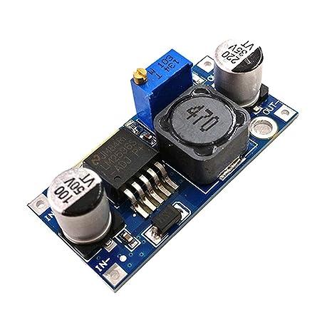 H HILABEE LM2596 3V 5V 12V Cargador USB Fuente De ...
