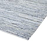 Earth First Striped Blue Jeans & Cotton Area