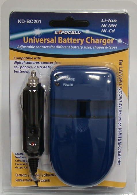 Amazon.com: Cargador de batería universal para baterías de ...