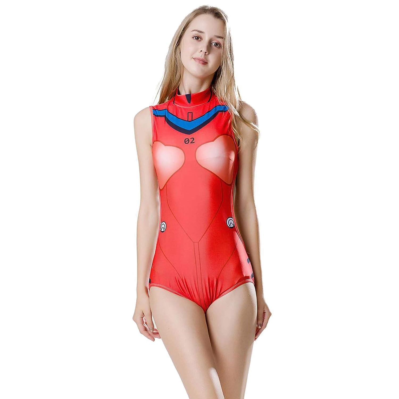Amazon.com: Asuka Langley Soryu Cosplay Eva - Bañador sexy ...