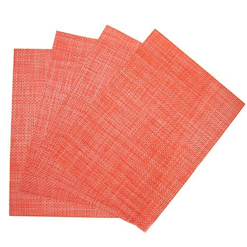 Benson Mills Longport Woven Vinyl Placemat (Set of 4), Calypso