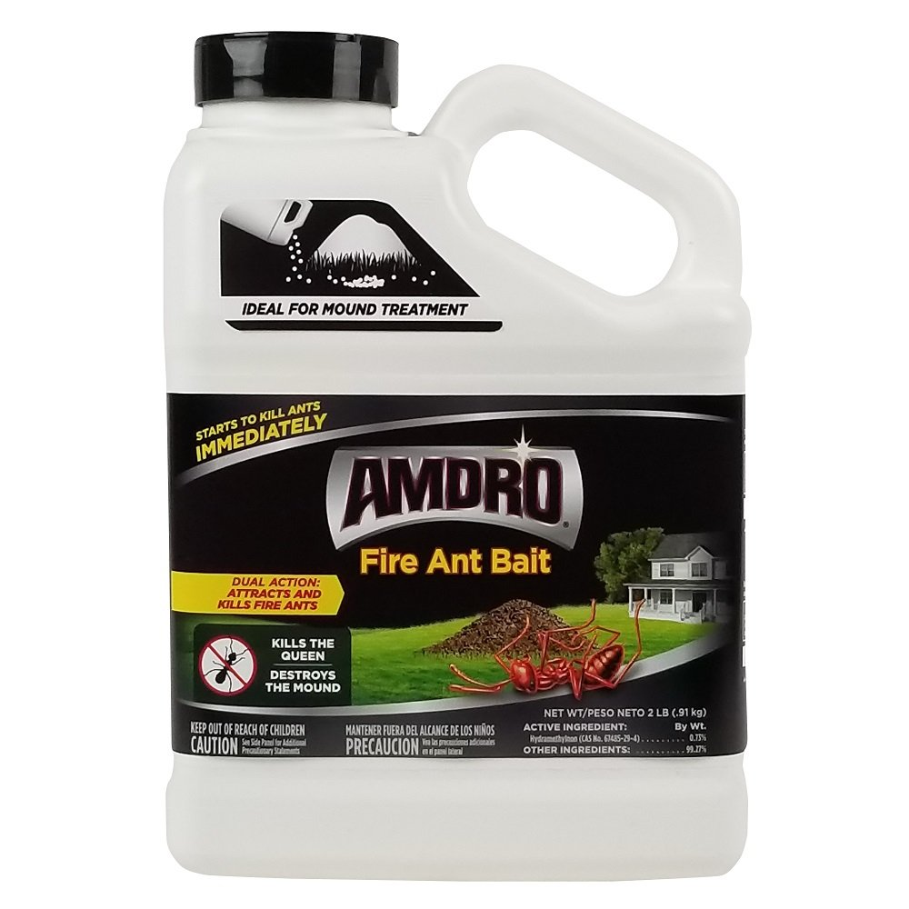AMDRO Fire Ant Bait Granules, 2 Pound