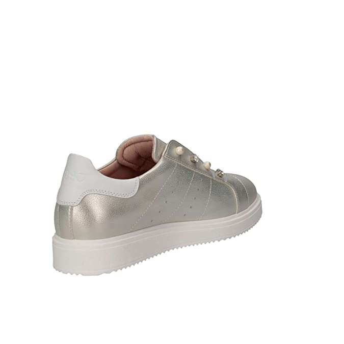 LIU-JO GIRL L4A4-00335-0051514 Sneakers Donna Platino 37  Amazon.it  Scarpe  e borse c96469fcf92