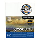 AMPERSAND ART SUPPLY Buy 2 Get 1 Gessobord Panel