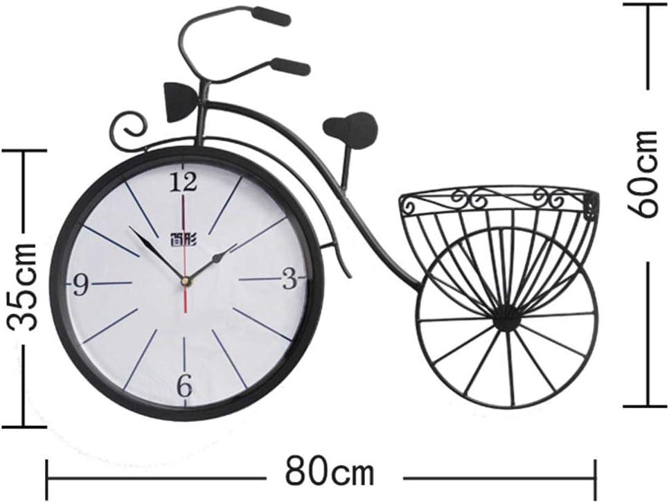 Bicicletas americanas Reloj de pared Sala de estar Moda Reloj ...