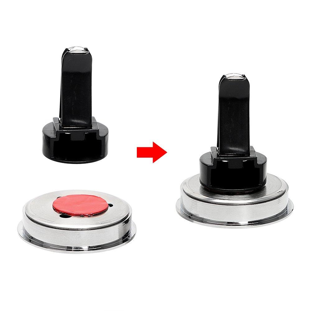 Accesorio para Interior de Coche iTimo decoraci/ón Higr/ómetro Luminoso para Coche higr/ómetro Marca de Aire